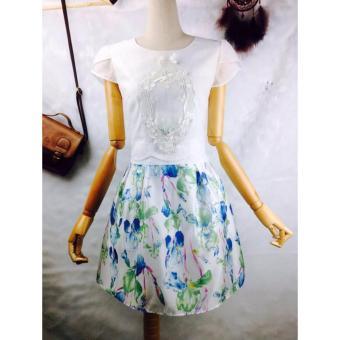 Đầm hoa công chúa thiết kế cao cấp
