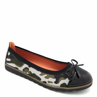 Giày Slip-on mũi da bóng đính nơ 333020-184-36