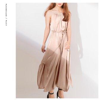 Đầm lụa 2 dây Fairytale Bliss Lilya SS2017 (Nude)