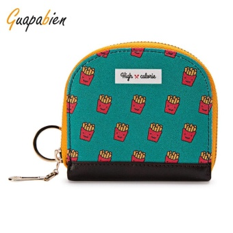 Guapabien Cute Small Item Patterns Mini Wallet Coin Purse for Girls(Green) - intl