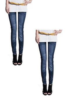 Bộ 2 quần legging Huy Kiệt HK97 (Xanh Đen)