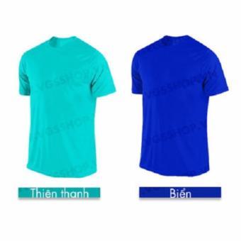 Bộ 2 áo thun LAKA A1318 (Xanh Ngọc + Biển)