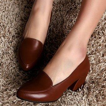 Giày da G1053 (Nâu)