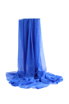 Moonar Swimwear Cover Up Scarf (Blue)