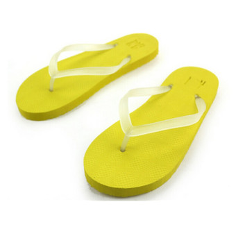 New 2016 Luminous Women Men Summer Slip Sandals Non-slip Fluorescence Wild Luminous Beach Slippers 5 Colors Size 36-43 - Intl