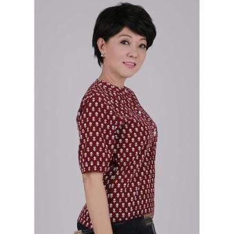 Áo kiểu nữ Ugether UPAR32 (Đỏ)