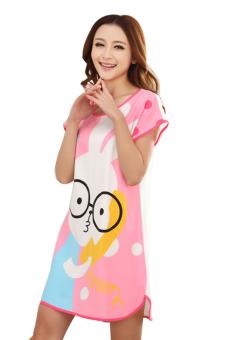 Đầm ngủ nữ Huy Kiệt TT63 (Hồng)