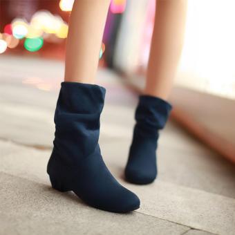 Giày Boot Cổ Cao 1106 (Xanh)