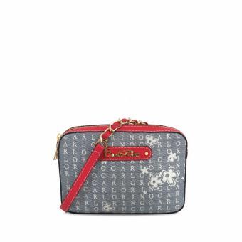 Túi đeo chéo CR Signature Carlo Rino 0303238-001-04 (đỏ)