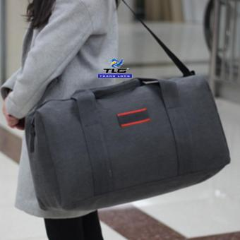 Túi du lich cỡ đại phối da Đồ Da Thành Long TLG 208140(đen)
