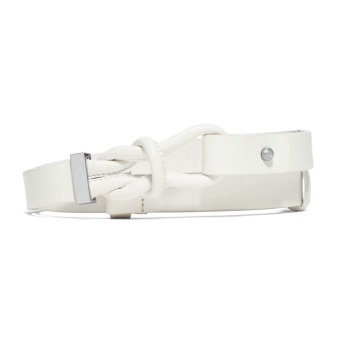 Thắt lưng nữ Michael Kors Knotted Belt (Trắng)
