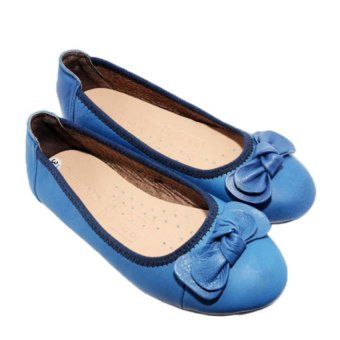 Giày Búp Bê Nữ Da Bò Minh Tâm MT737GN