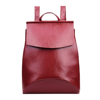 Women Fashion School Style Travel Satchel School Bag Backpack Bag - intl