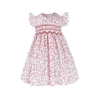 Annie - Đầm Bé Gái Thêu Xích Móc