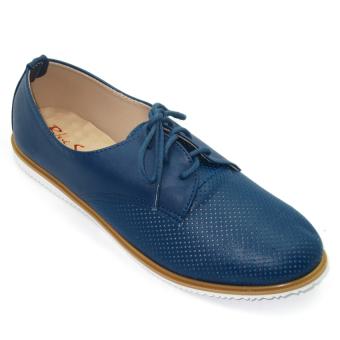 Giày Thể Thao Nữ Om Fashion 8313 (Xanh)