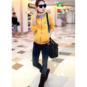 Áo khoác nữ S&R thời trang (Vàng)