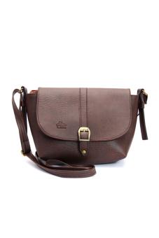 Túi đeo chéo LATA BL02 (Da nâu)