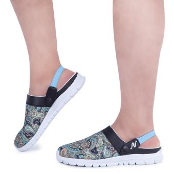 Male Elastic Band Design Slip On Slippers(Blue) - intl