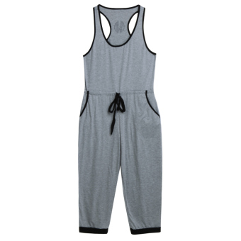 WomenCubwear Party Jupsuitong Tro(Grey)