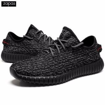 Giày Sneaker Thể Thao Nam Rocket – GS011 (Màu Đen)