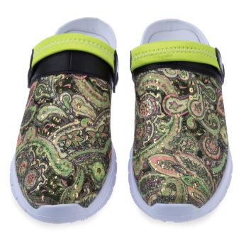 Male Elastic Band Design Slip On Slippers(Green) - intl