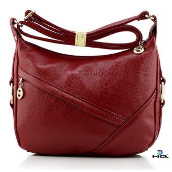 Túi xách nữ da thật cao cấp HQ 8TU39 2(đỏ)
