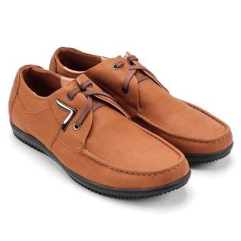 Giày mọi nam da thật Gentle MB462 (Bò)