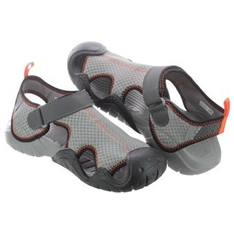 Xăng Đan Nam Crocs Swiftwater Sandal M Smo/Gpt(Xám)