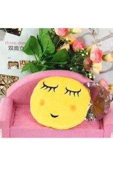HKS Girl Mini Emoji Coin Purse Shy - intl