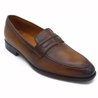 Giày da nam Pierre Cardin Brown LB054-BROWN