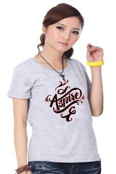 Áo thun nữ - Kỳ Khang KK323 (Xám)