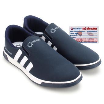 HL7602 - Giày thể thao nam Huy Hoàng màu xanh đen