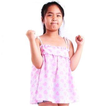 Áo kiểu bé gái Ugether UKID62 (Họa tiết)