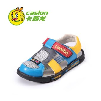 Summer Sandals Shoes 2017 Boys General Leather Children Shoes Boys Sandals - intl