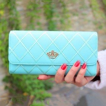 Lady Women Clutch Long Purse Leather Wallet Card Holder Handbag Bags Free shipping - intl