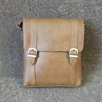 Túi đeo chéo nam da PU cao cấp TD02 (Da bò lợt)