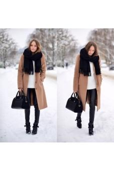 Khăn len thời trang