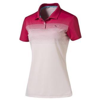 Áo Polo Nữ Pwrcool Colorblock Fade Golf Polo Shirt