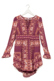 Đầm mini Free People Bridgette