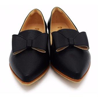 Giày Búp Bê Mũi Nhọn Pierre Cardin SB067-BLACK