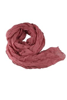 Winter hottest women fashion solid cotton voile warm soft silk scarf shawl cape 20 colors available 07 Color As Picture
