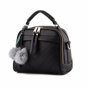 Túi xách tay nữ da bò cao cấp T25D-34-FI2A5-ĐEN