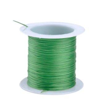 Moonar 3 Rolls 10M Strong Stretchy Elastic Cord String Strand DIY Craft 0.6mm (green) - intl