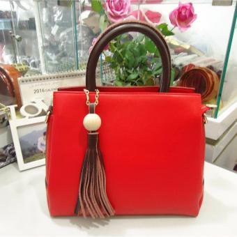Túi nữ da cao cấp DaH2 TN1719 (màu đỏ)