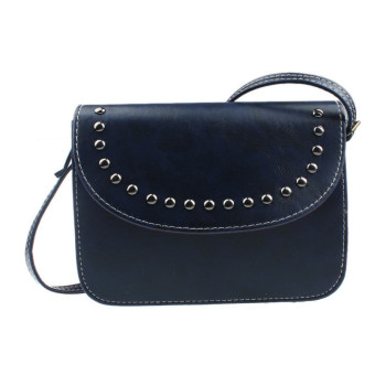 Women Handbag Shoulder Bags Tote Leather Women Messenger Hobo Bag Blue