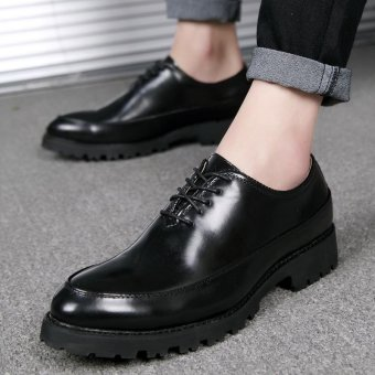 High - Quality Fashion Men 's Shoes Business Casual Shoes Formal Shoes Leather Shoes - intl
