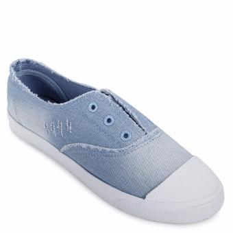 Giày lười thể thao nữ AZ79 WNTT0120016A1 (Xanh Nhạt)