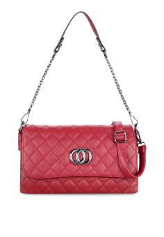Túi đeo chéo năng động Vinadeal A41 (Đỏ)