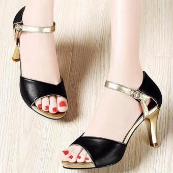 Giày da cao gót thời trang - LN121