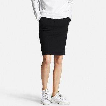 Chân váy nỉ UNIQLO size L đen